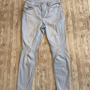 Old Navy Rockstar high rise distressed skinny jean